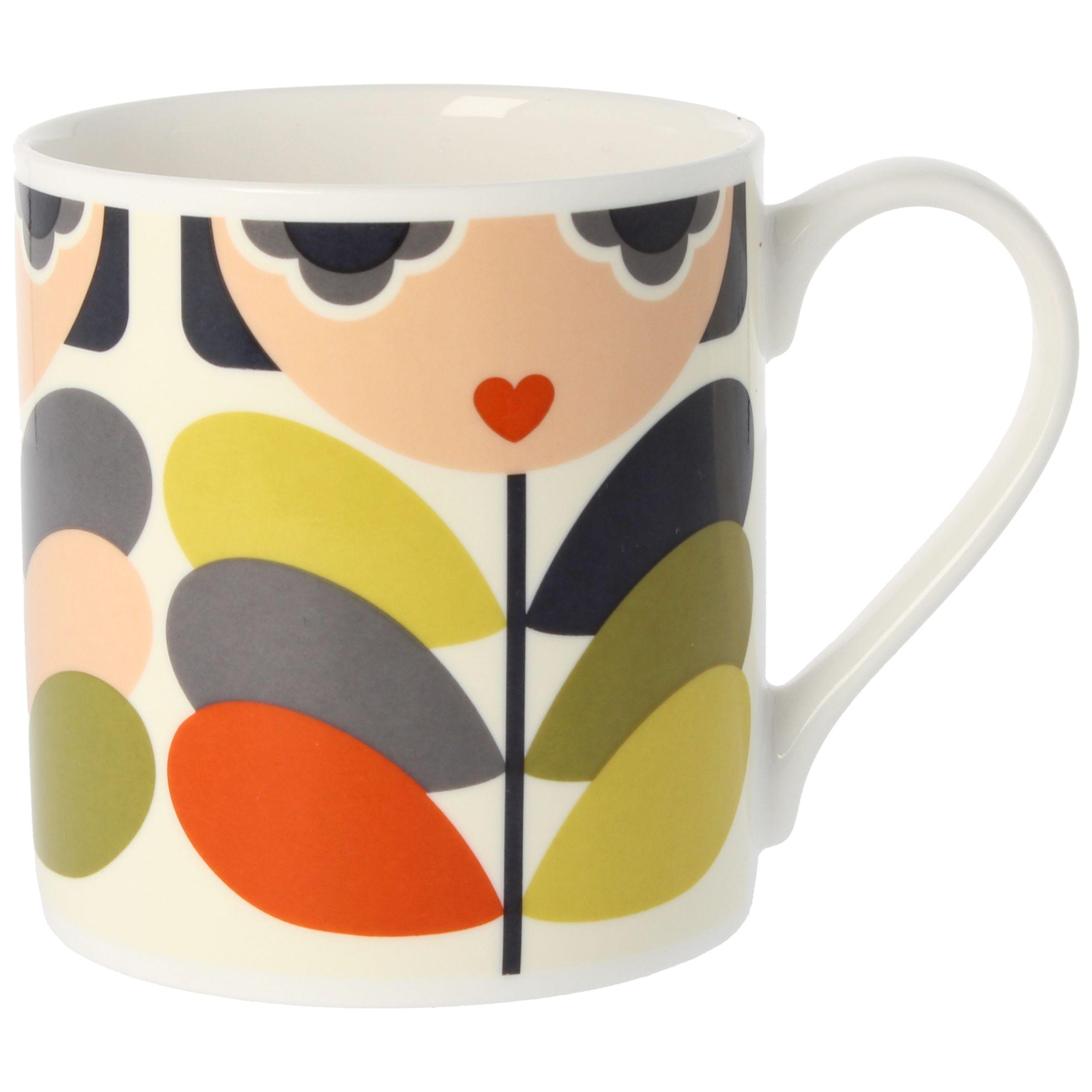 Orla Kiely Orla Kiely Lady Stem Mug, 350ml, Multi