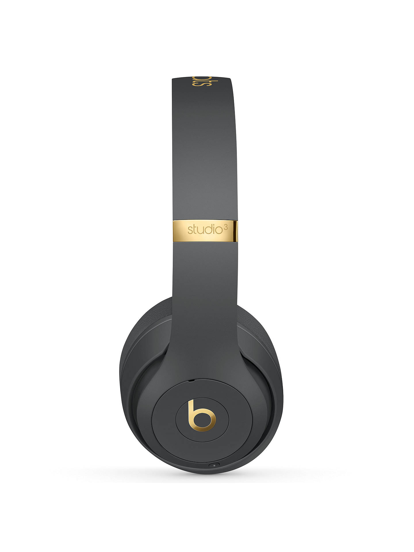 BuyBeats Studio³  Wireless Bluetooth Over-Ear Headphones with Pure Adaptive Noise Cancelling & Mic/Remote, Shadow Grey Online at johnlewis.com