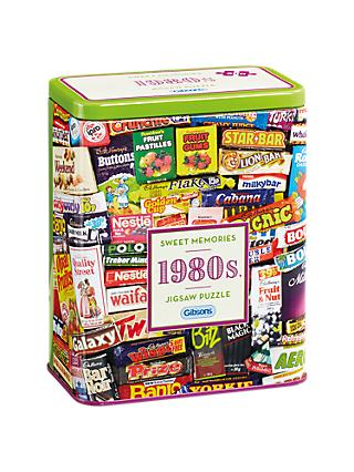 Gibsons 1980 Sweet Tin Jigsaw Puzzle, 500 pieces