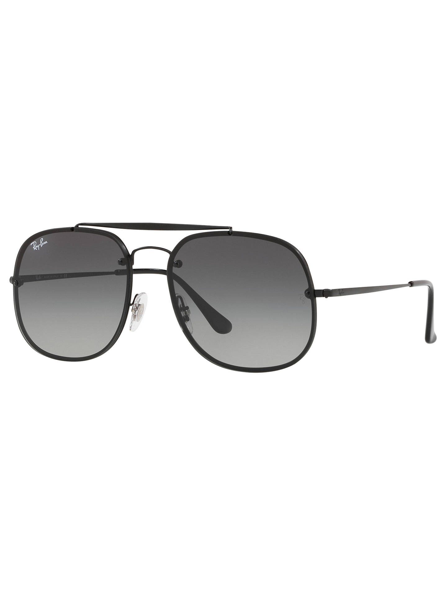 BuyRay-Ban RB3583N Unisex Blaze General Square Sunglasses, Black Grey  Gradient Online at ... e1b0511a36e9