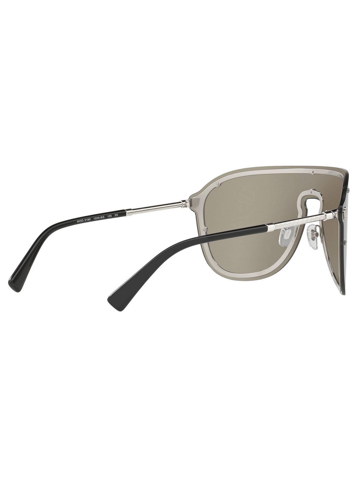 922e67d45d011 Versace VE2180 Women s Aviator Sunglasses at John Lewis   Partners