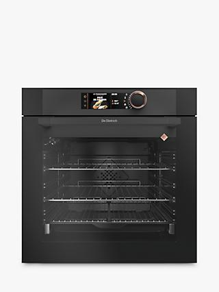 De Dietrich DOP7785A Built-In Pyrolytic Single Oven, Black