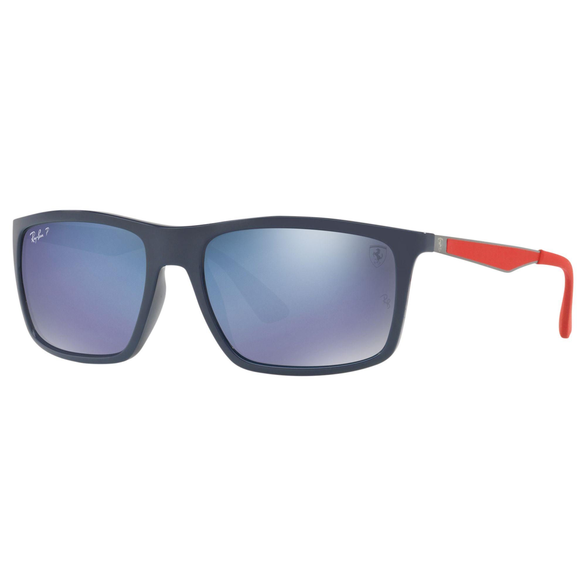 bf59266b99 Ray-Ban RB4228 Men s Polarised Rectangular Sunglasses