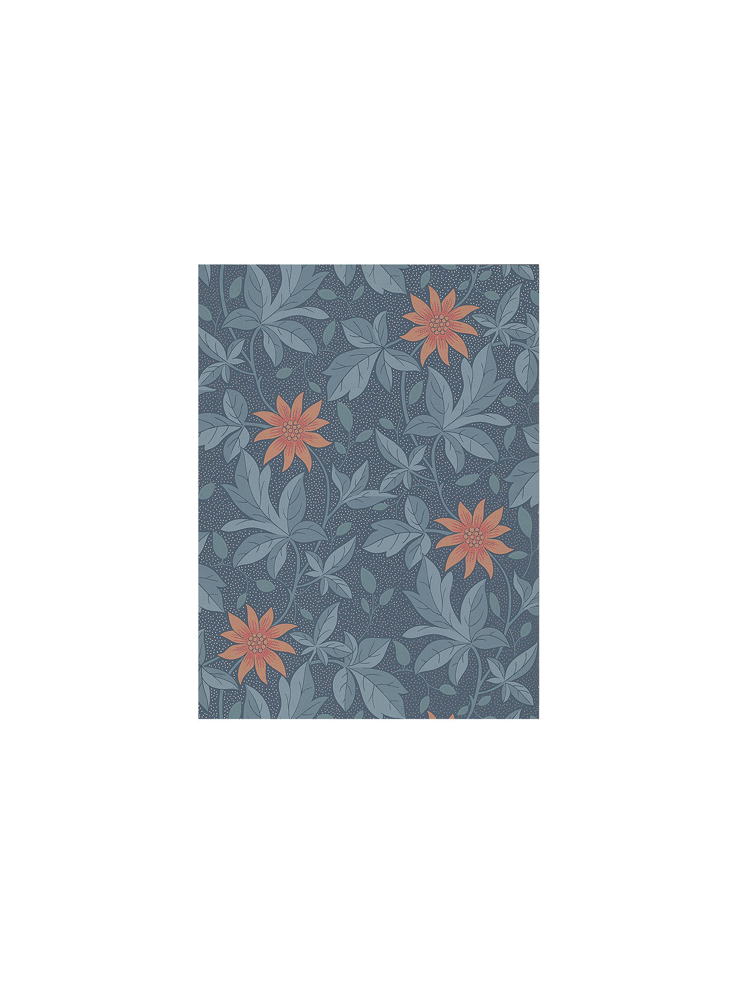 Buy The Little Greene Paint Company Monroe Wallpaper, Night Flower Online at johnlewis.com ...