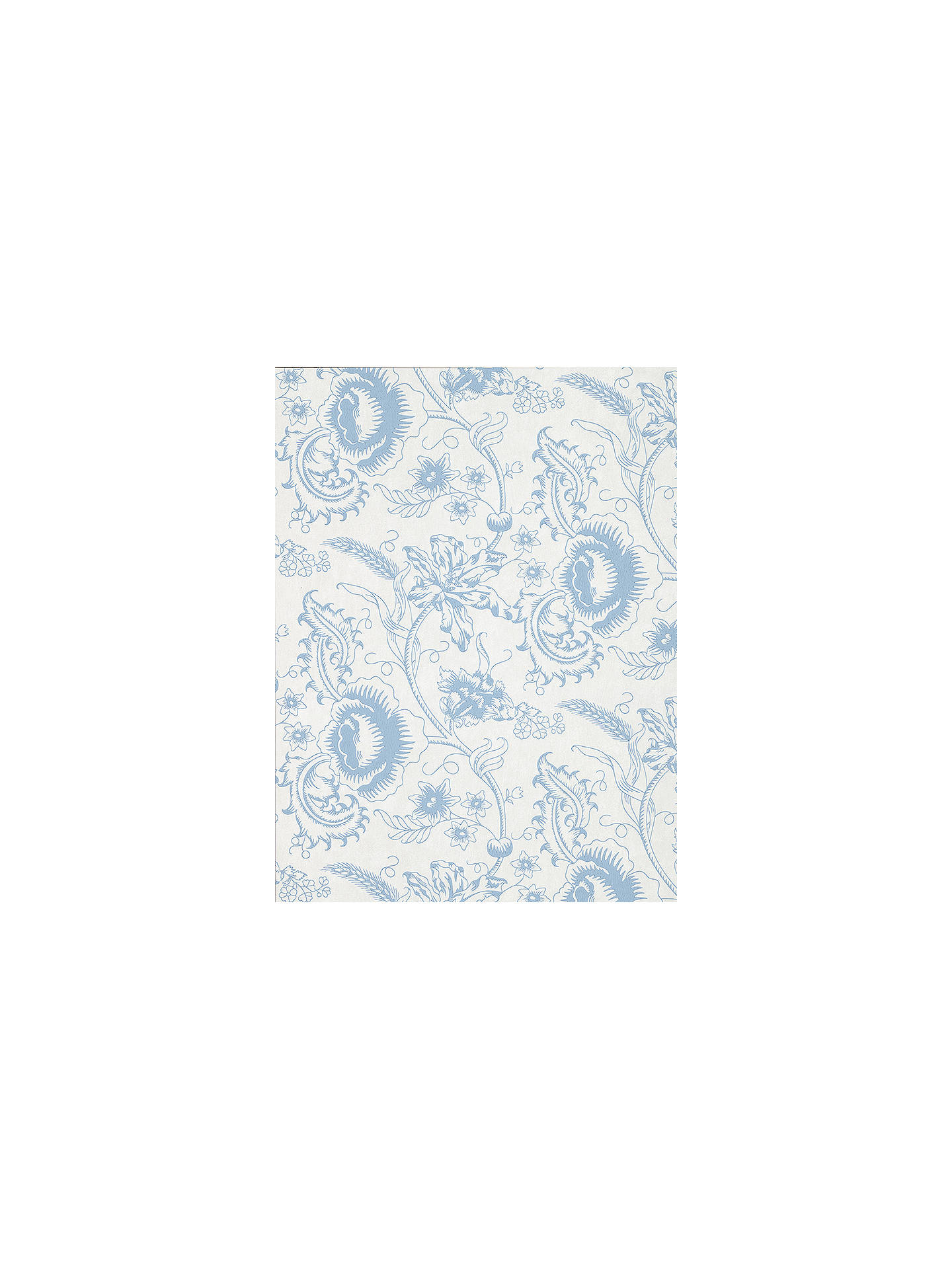Buy The Little Greene Paint Company Woodblock Mono Wallpaper, Juniper Online at johnlewis.com