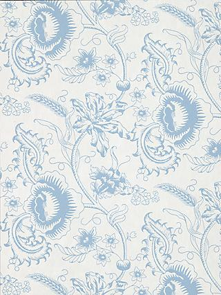 The Little Greene Paint Company Woodblock Mono Wallpaper
