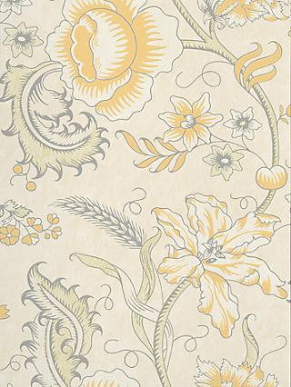 The Little Greene Paint Company Woodblock Trail Wallpaper