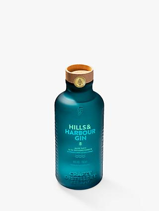 Crafty Distillery Hills & Harbour Gin, 70cl
