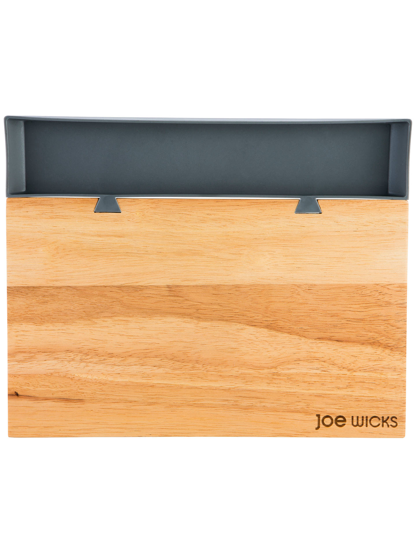 BuyJoe Wicks Wood Chopping Board Food Tray, L35cm Online at johnlewis.com