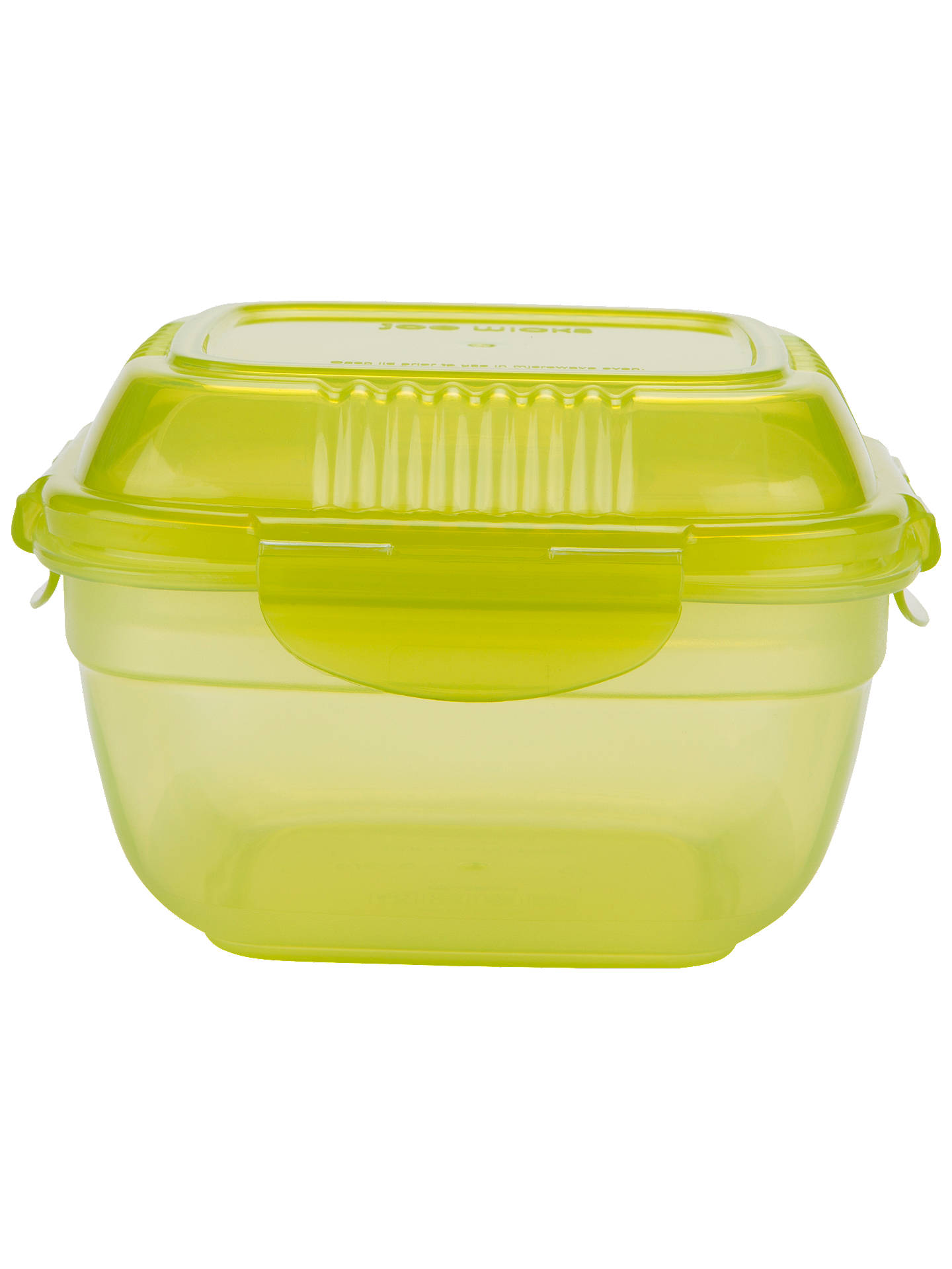 BuyJoe Wicks Airtight Salad Lunch Box, Green/Clear, 950ml Online at johnlewis.com