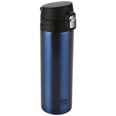 Joe Wicks Stainless Steel Water Bottle, 500ml, Blue