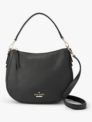 Kate Spade New York Jackson Street Small Mylie Leather Handbag Black
