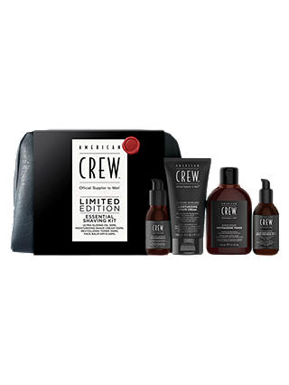 Buy American Crew Essential Shaving Kit Online at johnlewis.com
