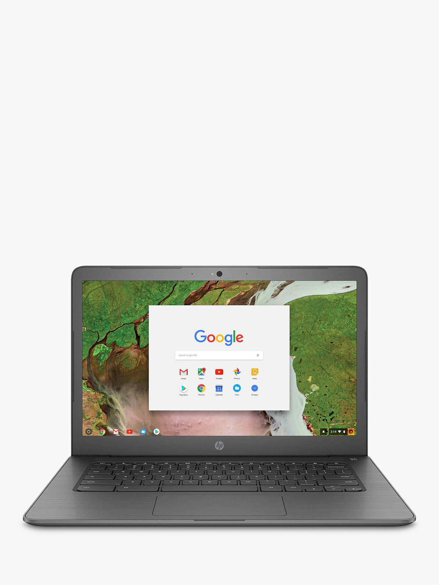 "Hp 14 Ca000na Chromebook, Intel Celeron, 4 Gb Ram, 32 Gb E Mmc, 14"", Grey by Hp"
