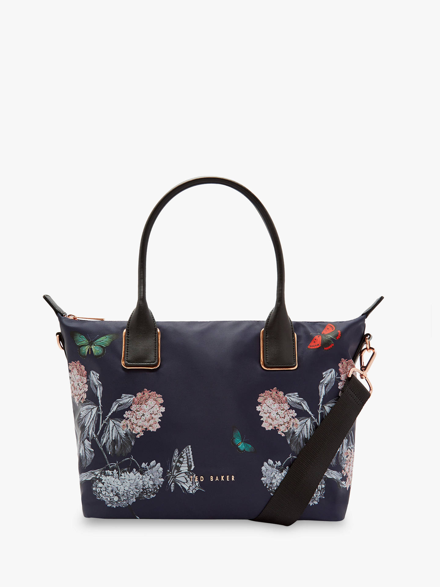 BuyTed Baker Marucha Small Tote Bag, Multi/Blue Online at johnlewis.com