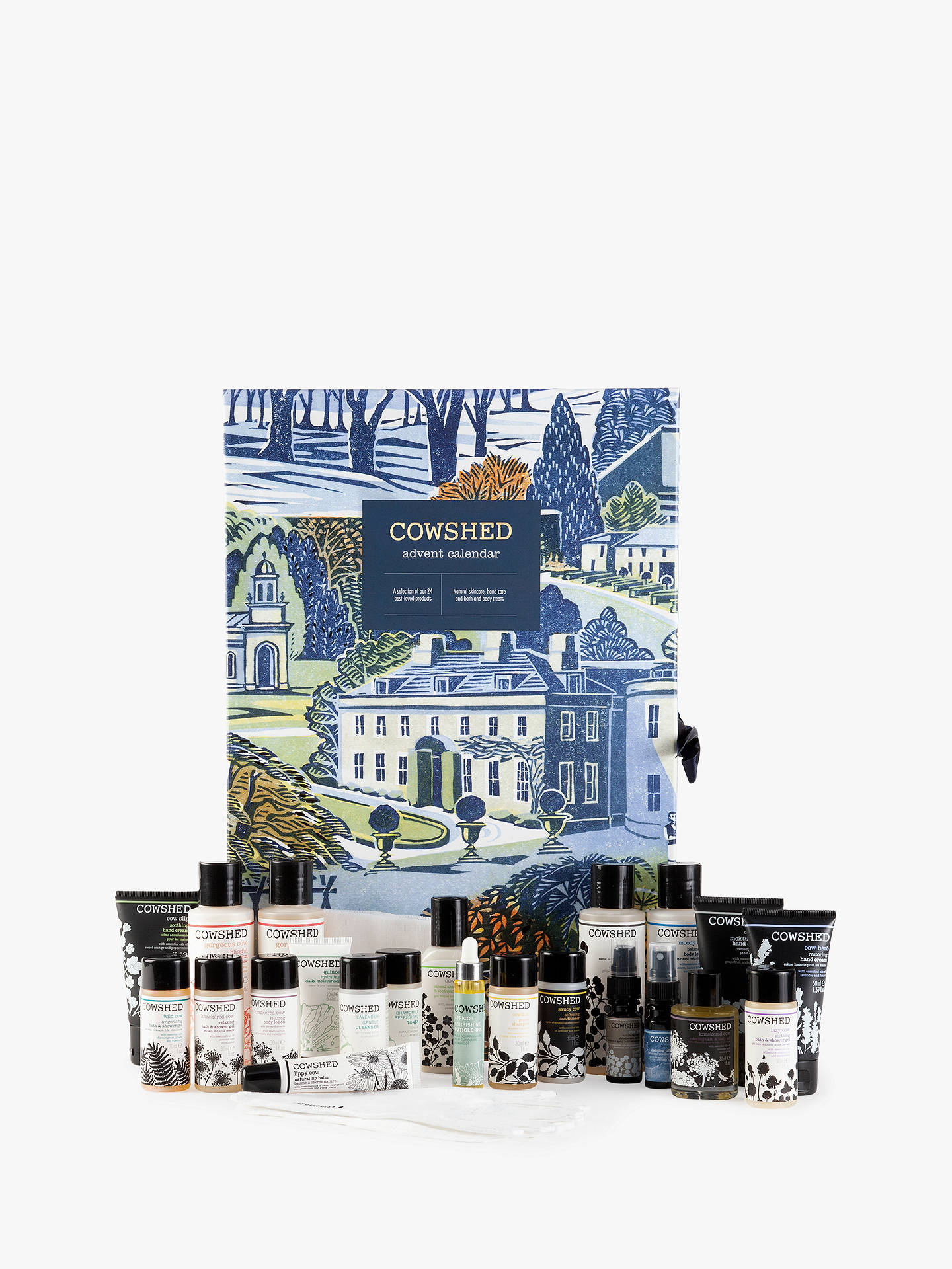 BuyCowshed 24 Day Beauty Advent Calendar Online at johnlewis.com