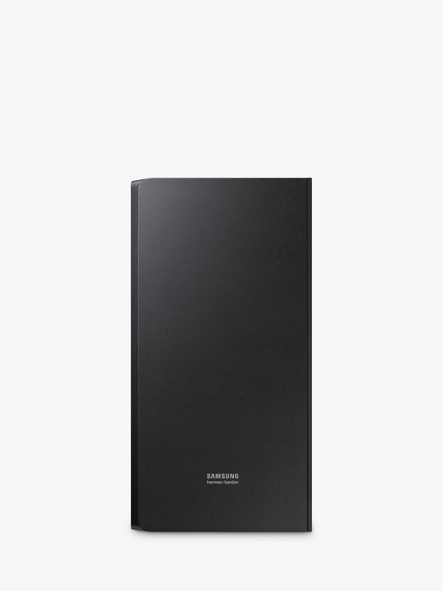 Buy Samsung harman/kardon HW-N850 Bluetooth Wi-Fi Sound Bar with Dolby Atmos & Wireless Subwoofer Online at johnlewis.com