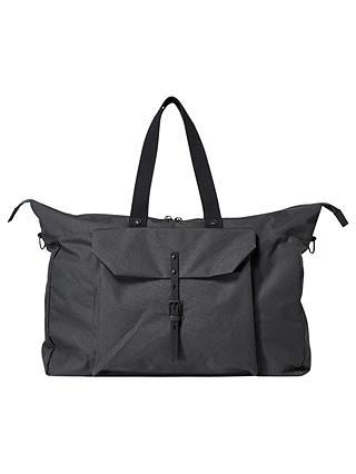 Buy Ally Capellino Freddie Ripstop Holdall, Charcoal Online at johnlewis.com