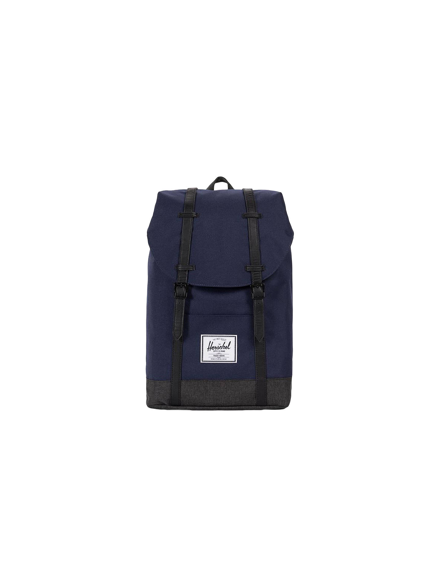 97bcc8f66ce Buy Herschel Supply Co. Retreat Backpack, Peacoat Blue/Denim Online at  johnlewis.