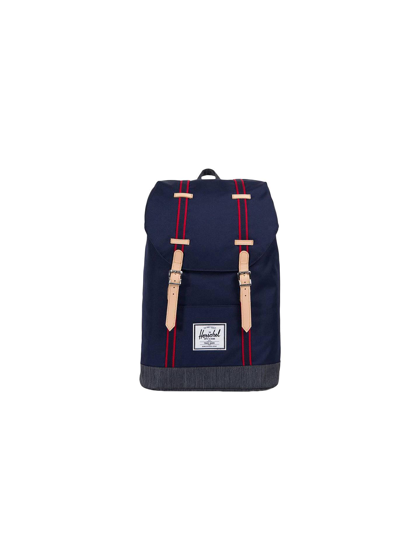 f10531d13 Buy Herschel Supply Co. Retreat Backpack, Blue/Denim Online at  johnlewis.com ...