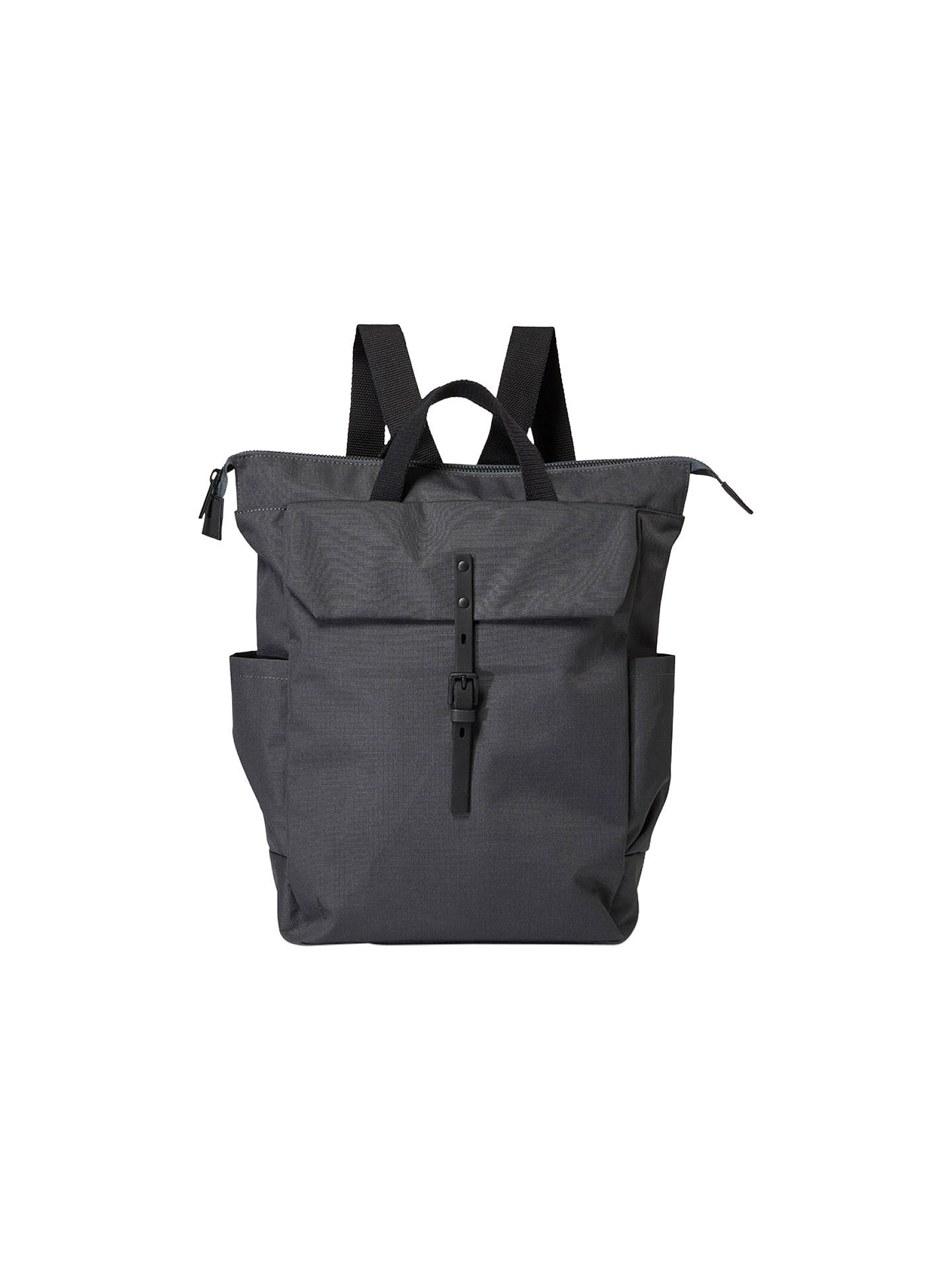 BuyAlly Capellino Fin Ripstop Backpack, Charcoal Online at johnlewis.com
