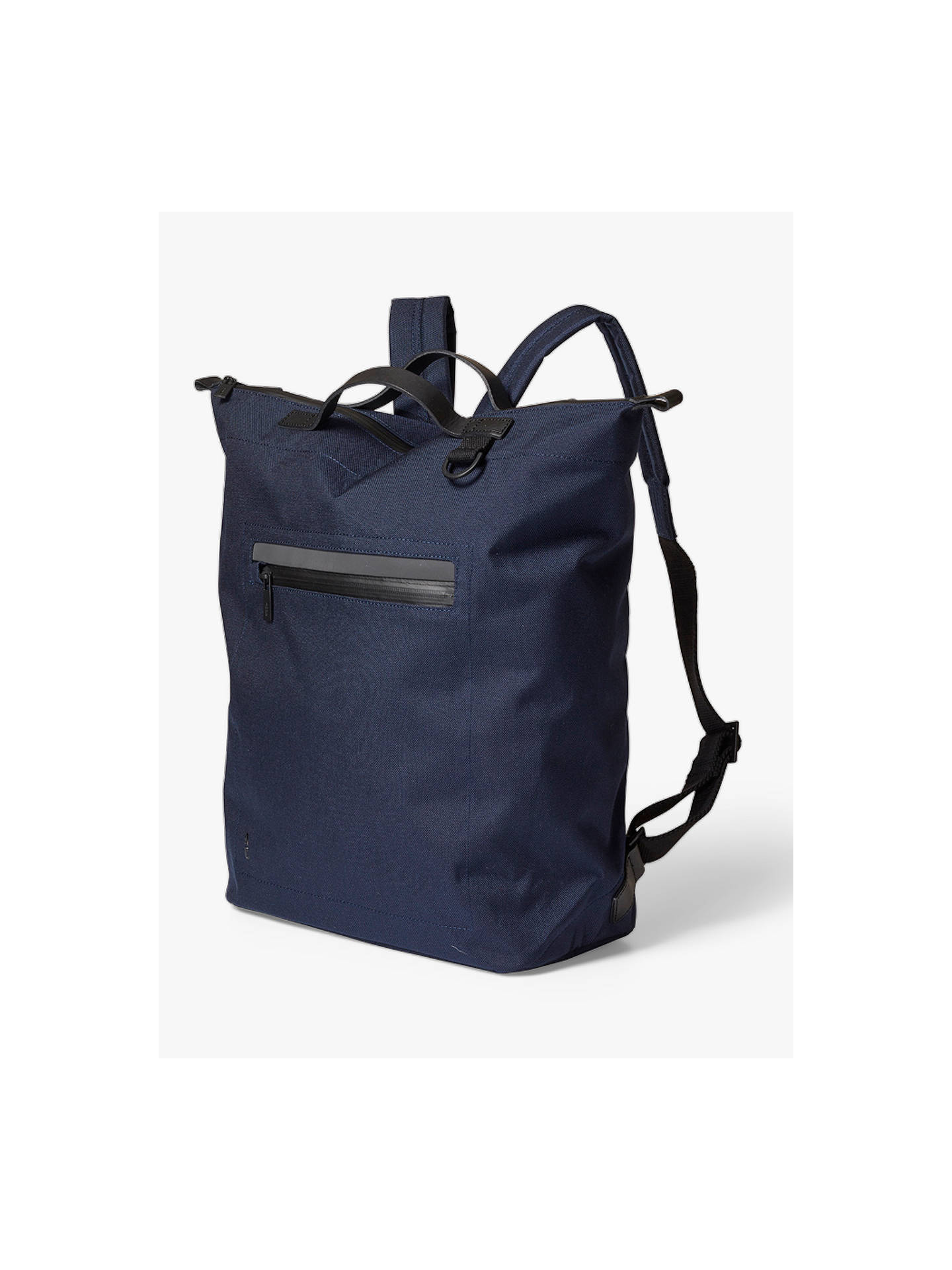 Buy Ally Capellino Hoy Travel Cycle Backpack, Navy Online at johnlewis.com