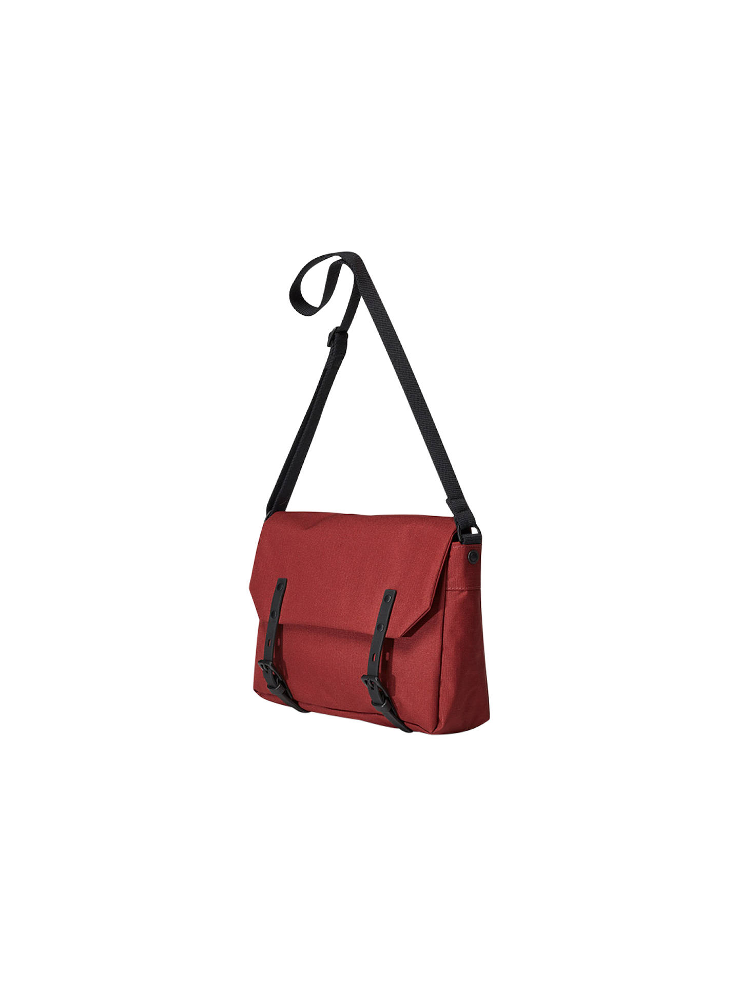 BuyAlly Capellino Small Jeremy Ripstop Messenger Bag, Burgundy Online at johnlewis.com