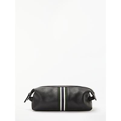 John Lewis & Partners Lisbon Wash Bag, Black