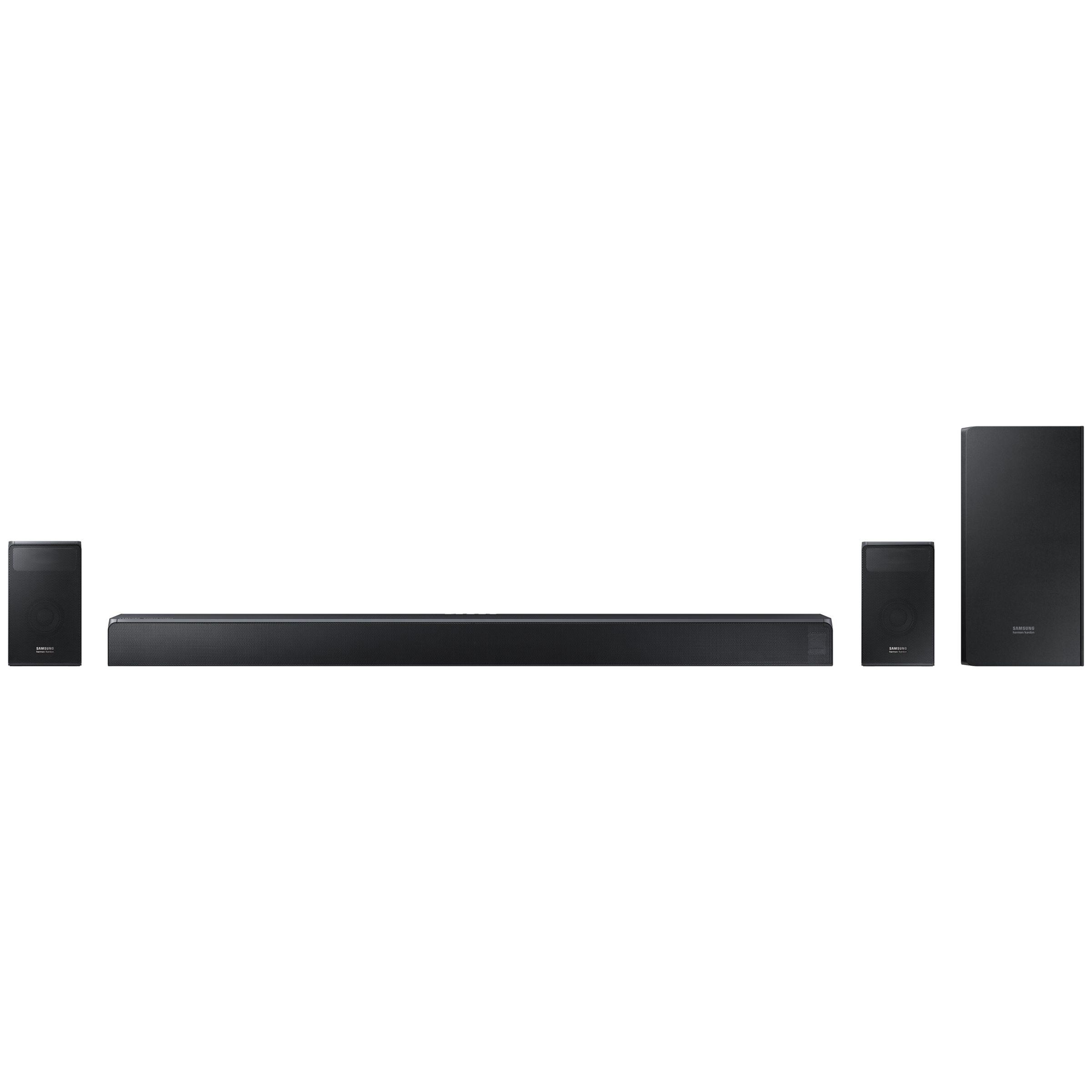 Samsung harman/kardon HW-N950 Bluetooth Wi-Fi Sound Bar with Dolby Atmos,  Wireless Subwoofer & Rear Speakers