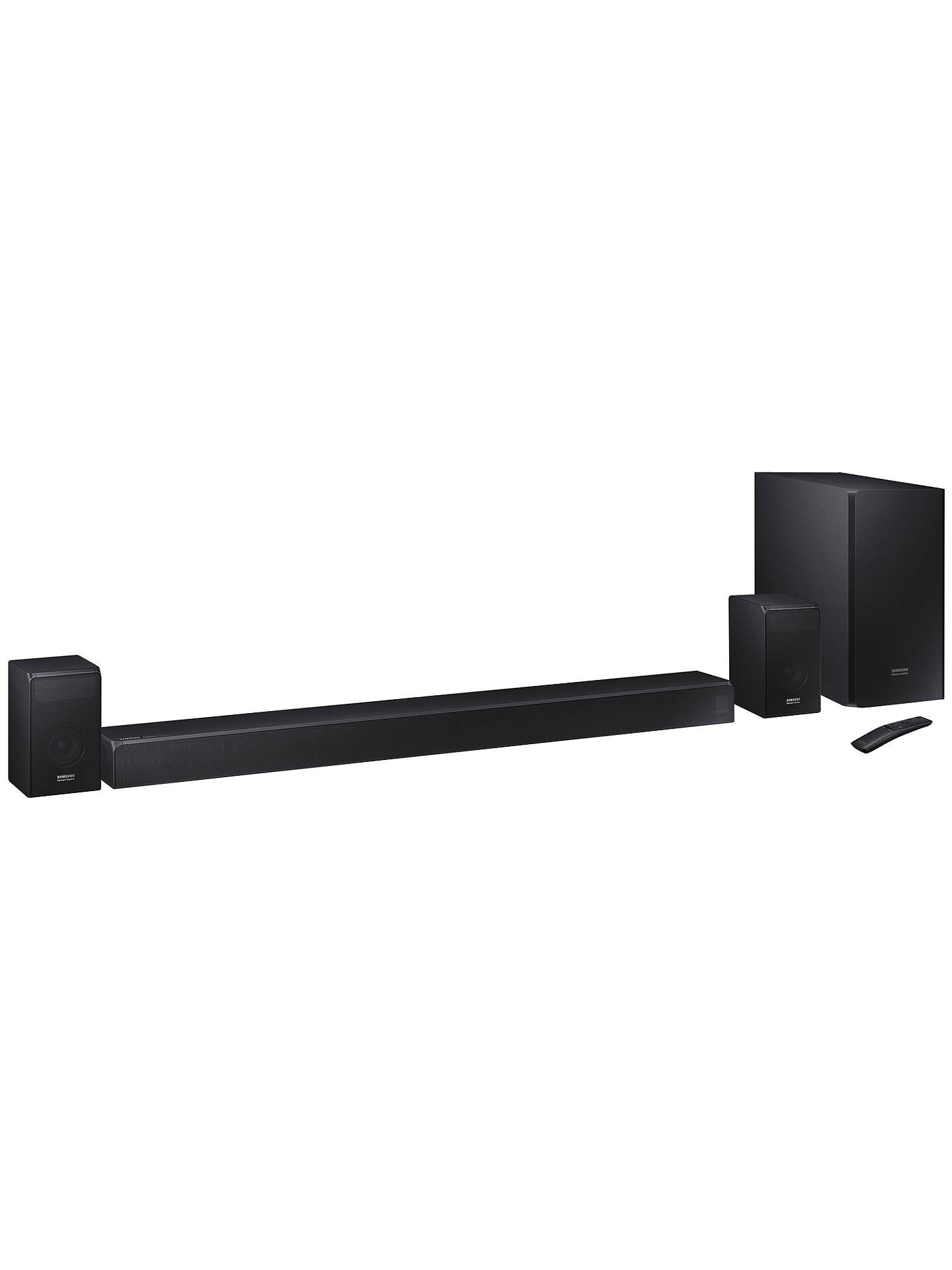 Samsung harman/kardon HW-N950 Bluetooth Wi-Fi Sound Bar with Dolby Atmos,  Wireless Subwoofer & Rear Speakers