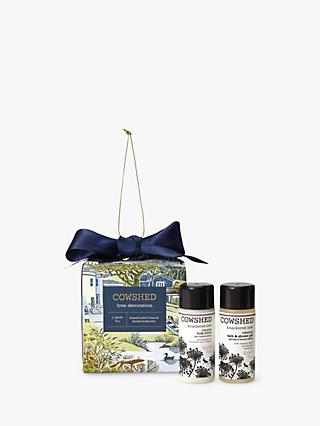 Cowshed Tree Decoration Bath & Body Gift Set