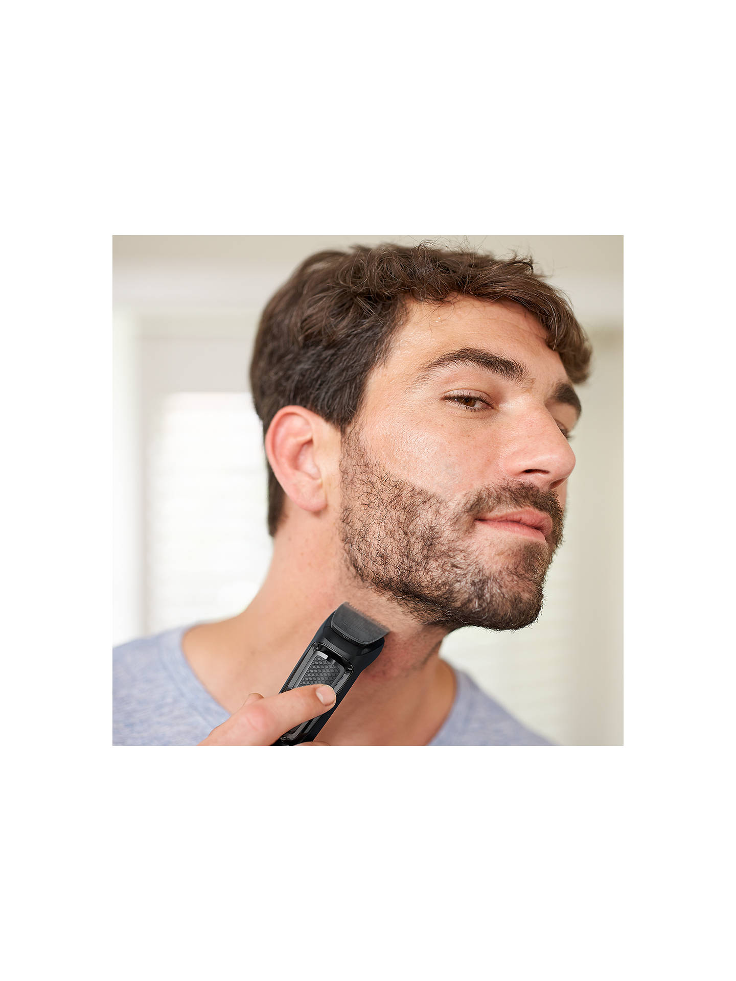 Buy Philips MG3720/33 Series 3000 Multigroom Electric Shaver, Black Online at johnlewis.com