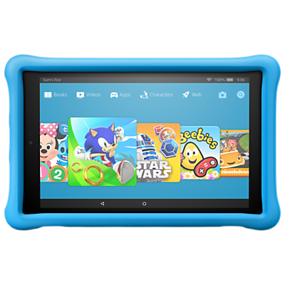 Amazon Fire HD 10 Kids Edition Tablet with Kid-Proof Case, Fire OS, Wi-Fi, 32GB, 10