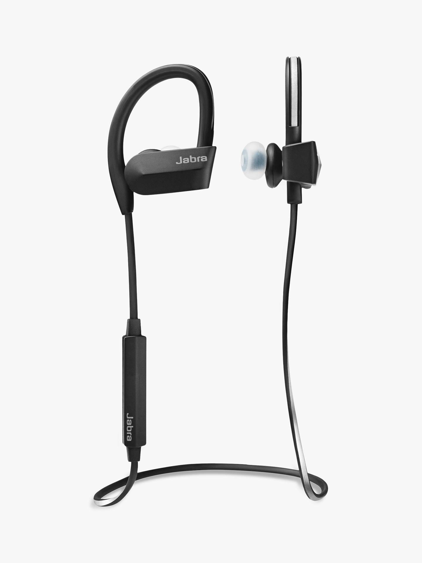 Jabra Sport Pace Sweat Weather Resistant Bluetooth In Ear Wireless Earbuds Blue Buyjabra Headphones With Mic