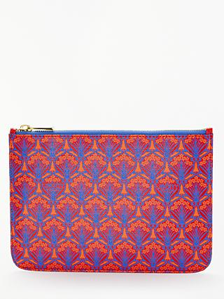 Liberty London Iphis Print Canvas Pouch Purse