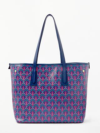 Liberty London Iphis Print Canvas Marlborough Tote Bag