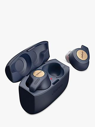 Jabra Elite Active 65t True Wireless Sweat & Weather-Resistant Bluetooth In-Ear Headphones with Mic/Remote