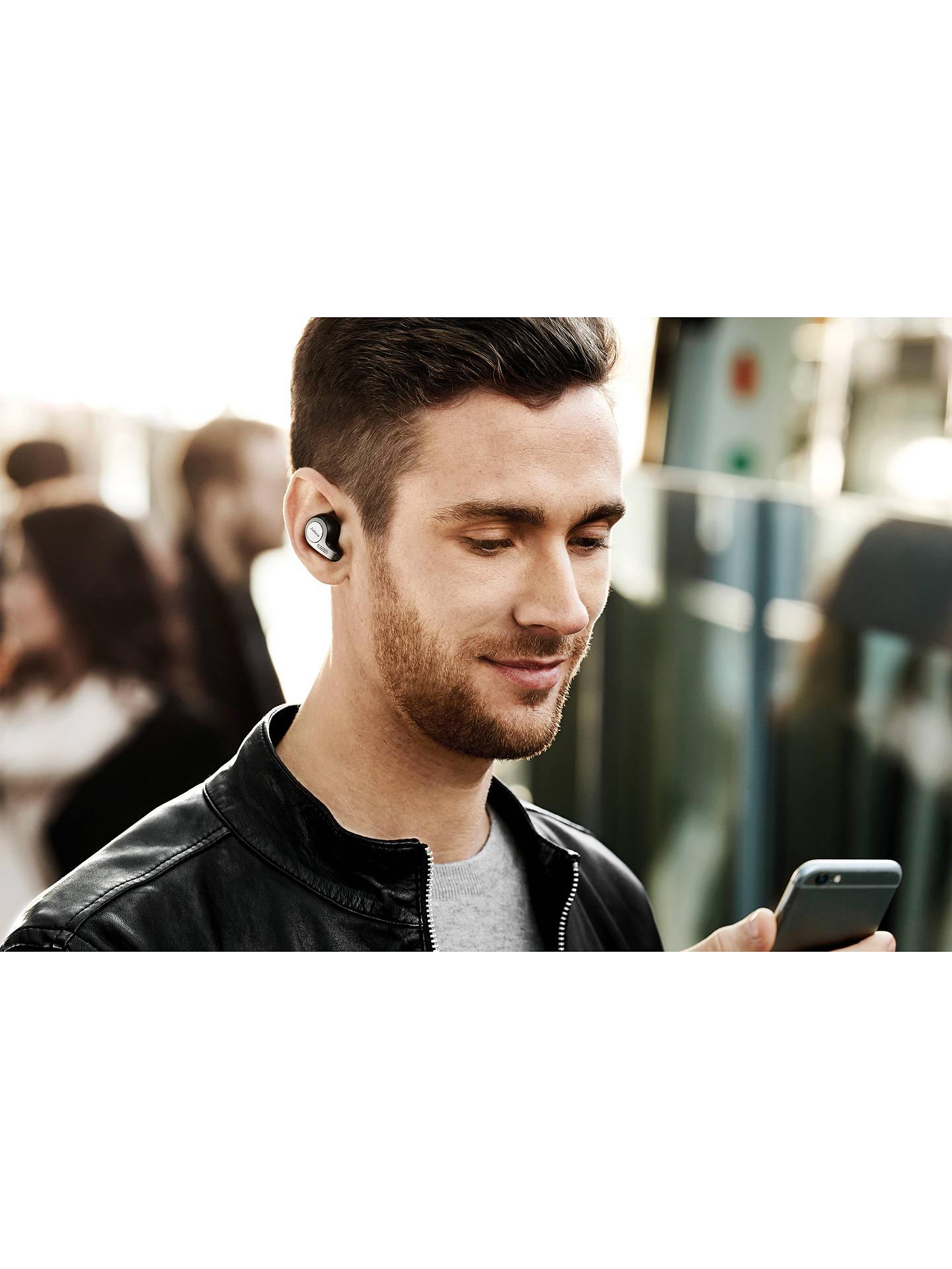 Jabra Elite 65t True Wireless Bluetooth In-Ear Headphones with Mic/Remote,  Black
