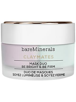 bareMinerals Claymates Mask Duo Be Bright & Be Firm, 58g