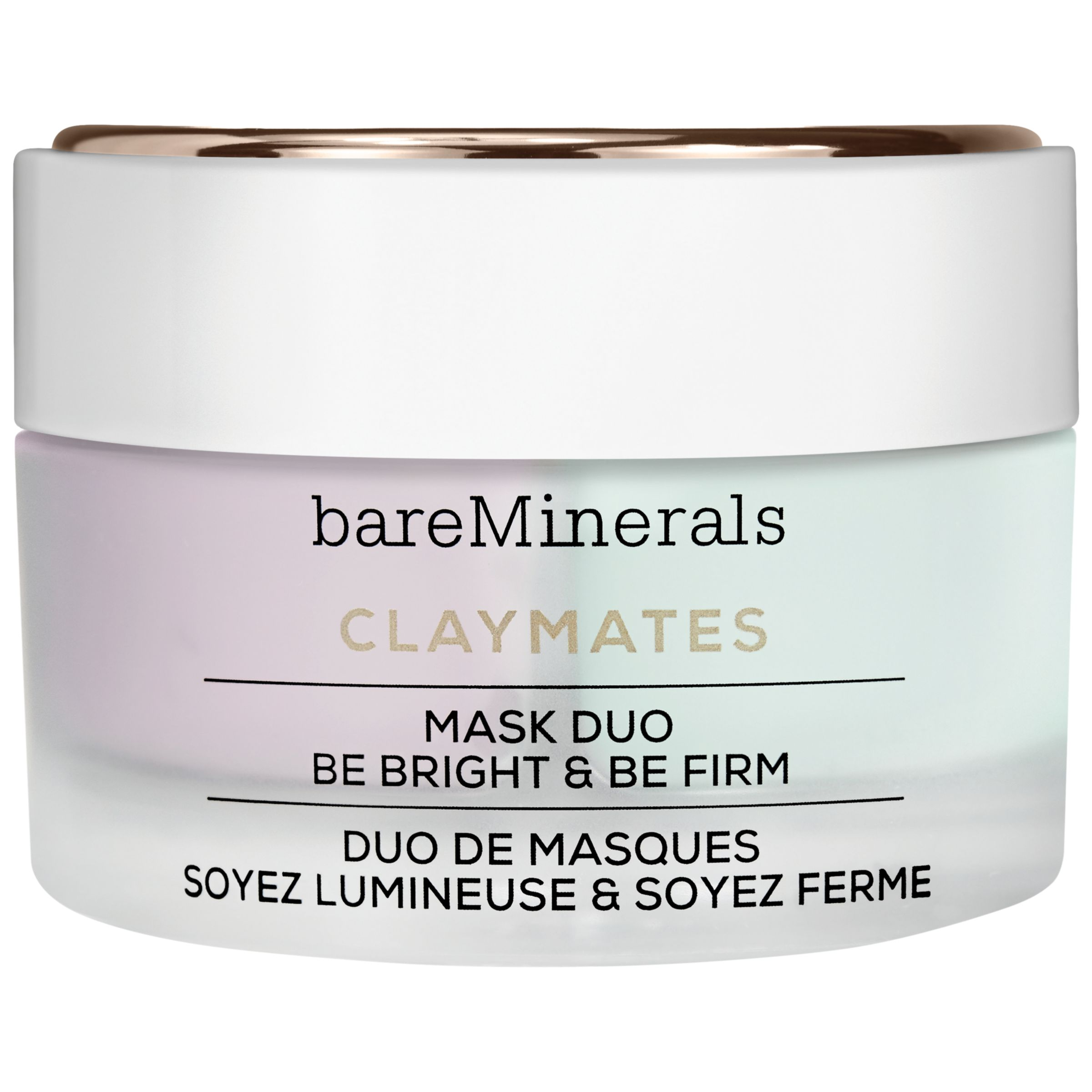 bareMinerals bareMinerals Claymates Mask Duo Be Bright & Be Firm, 58g