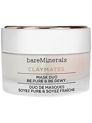 bareMinerals Claymates Mask Duo Be Pure & Be Dewy, 58g