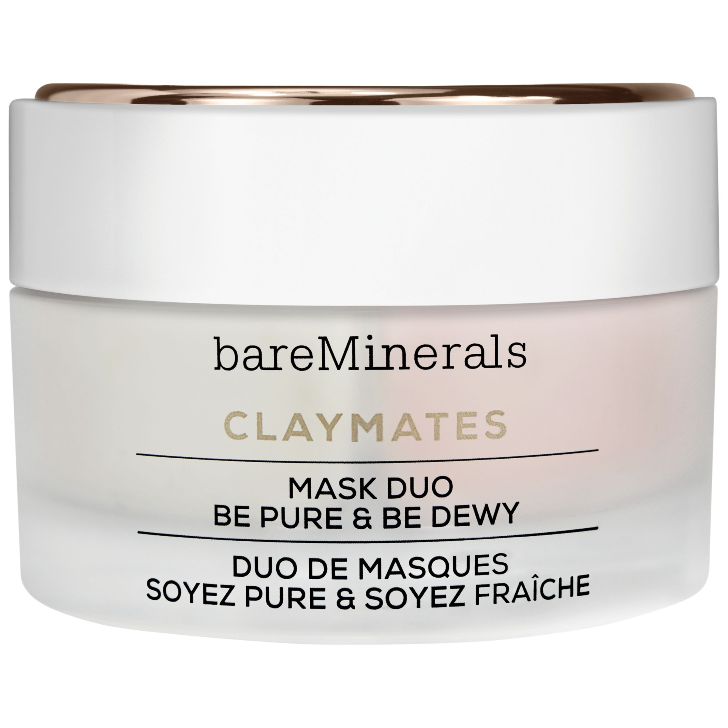 bareMinerals bareMinerals Claymates Mask Duo Be Pure & Be Dewy, 58g