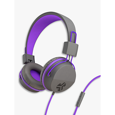 Image of JLab Audio JBuddies Studio Children's Volume Limiting Over-Ear Headphones with Mic/Remote