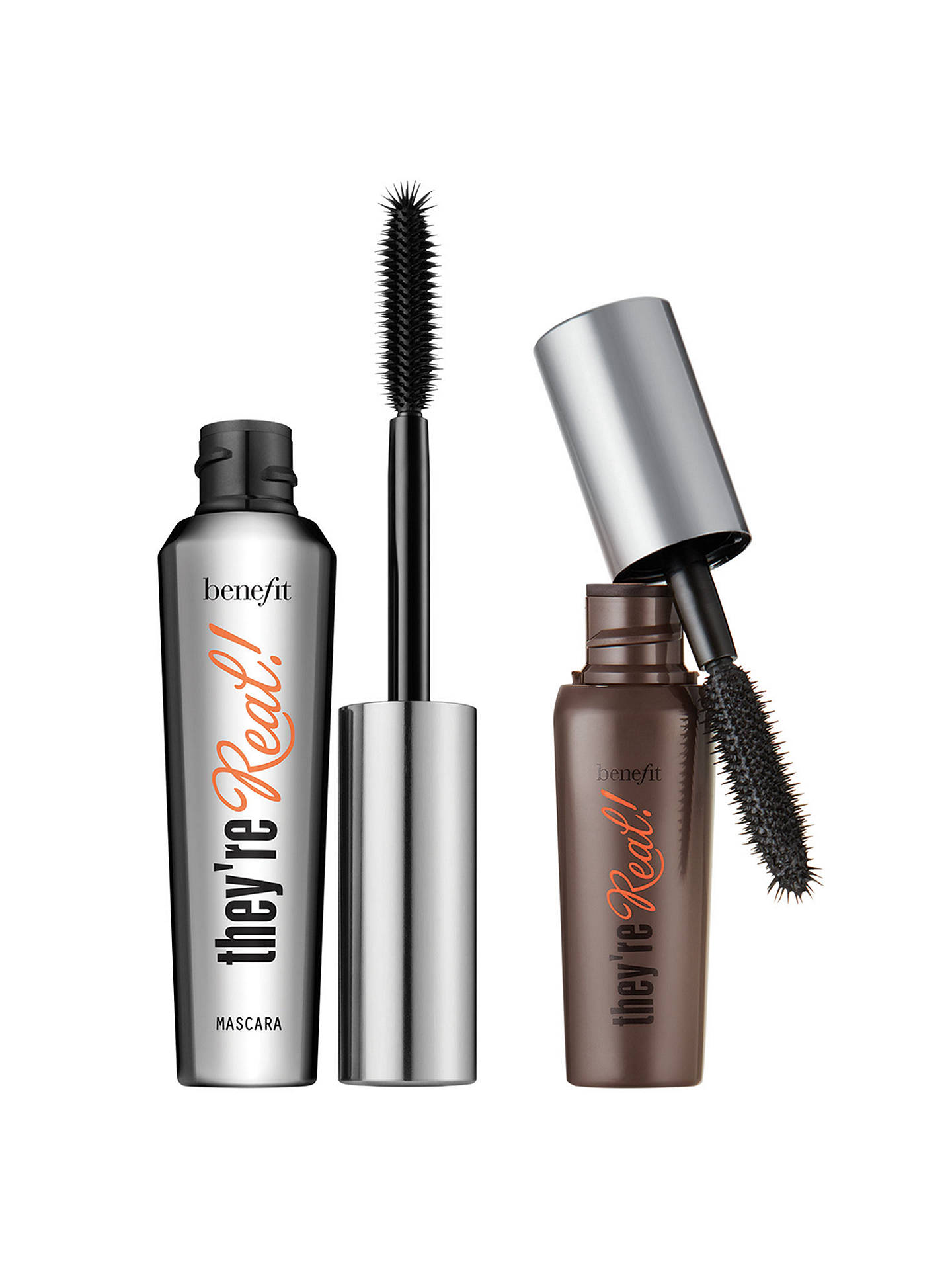 c37e4e5f3aa ... Buy Benefit They're Real Big Steal Lengthening Mascara Duo Online at  johnlewis. ...