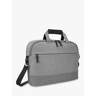 "Image of Targus CityLite Shoulder Bag for Laptops 12 - 15.6"", Grey"
