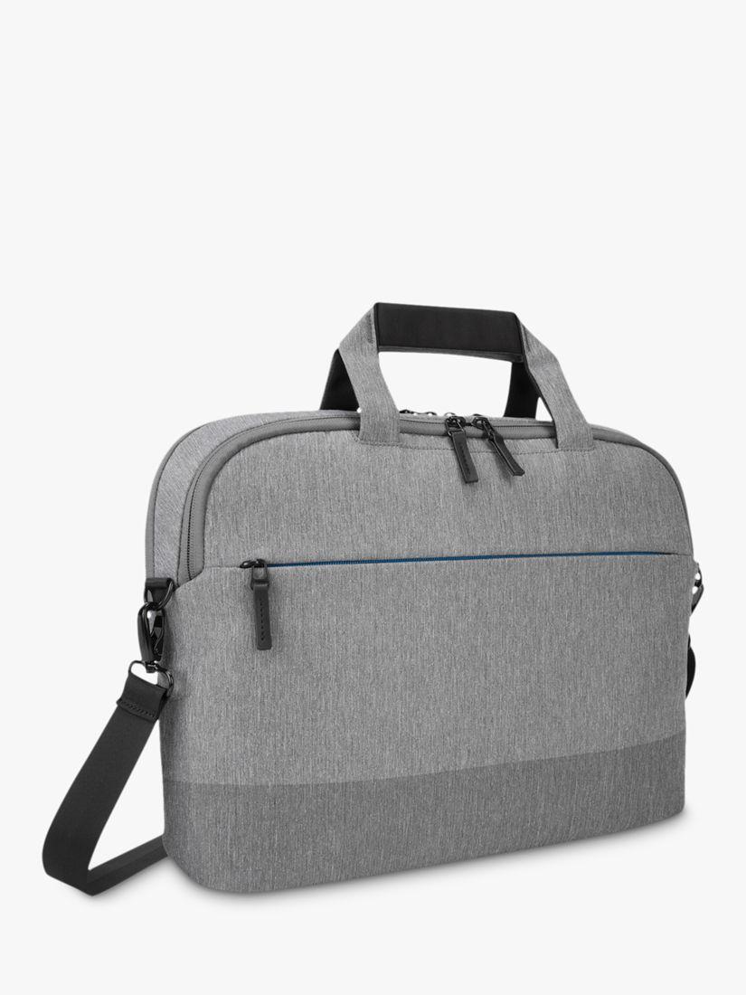 """Targus Targus CityLite Shoulder Bag for Laptops 12 - 15.6"""", Grey"""