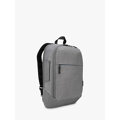 Image of Targus CityLite Convertible Backpack / Briefcase for Laptops up to 15.6, Grey