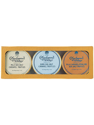 Buy Charbonnel et Walker Sea Salt Caramel Truffles Trio, 146g Online at johnlewis.com