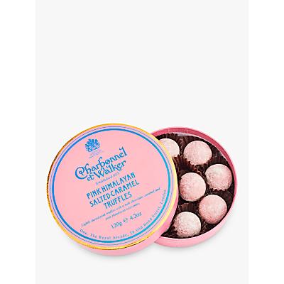 Image of Charbonnel et Walker Pink Himalayan Salted Caramel Truffles, 120g