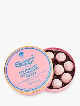 Charbonnel et Walker Pink Himalayan Salted Caramel Truffles, 120g